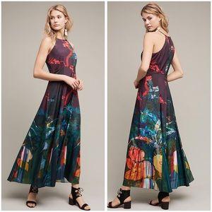 NWT Cadence Printed Maxi Dress